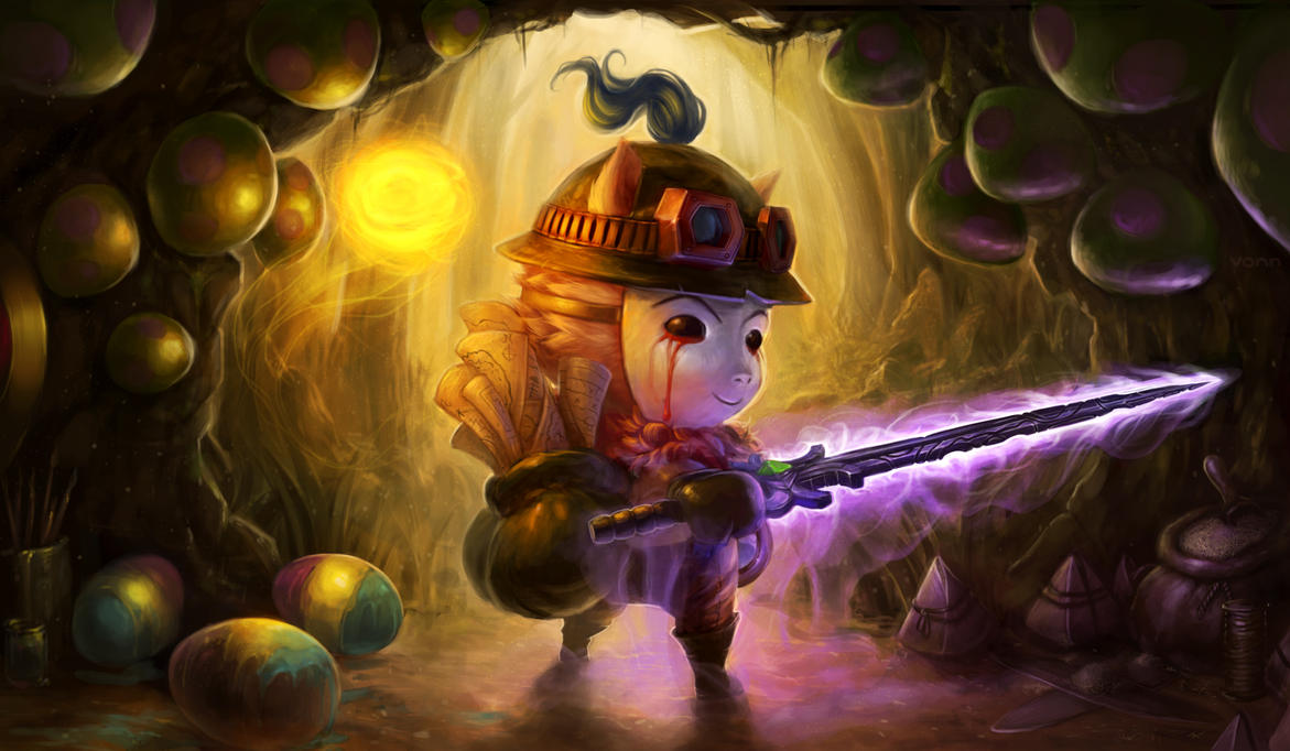 Season 3 Contest - It's Teemo Time. by Tvonn9