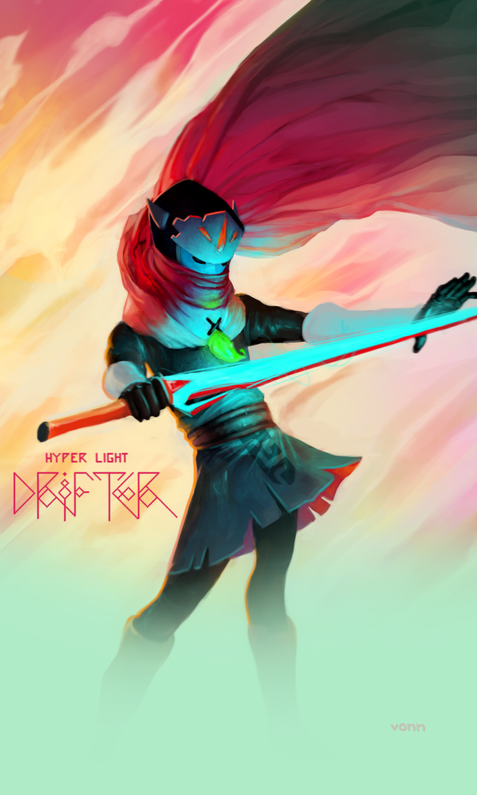Hyper Light Drifter Fan Art by Tvonn9