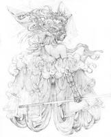 Vonn Sketch 10.31.15 - The Mischantress by Tvonn9