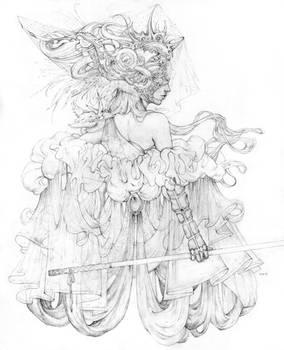 Vonn Sketch 10.31.15 - The Mischantress
