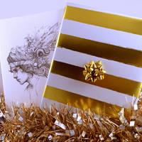 Wrapped Sketchbooks for Christmas! by Tvonn9