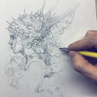 Vonn Sketch 12.9.15 by Tvonn9