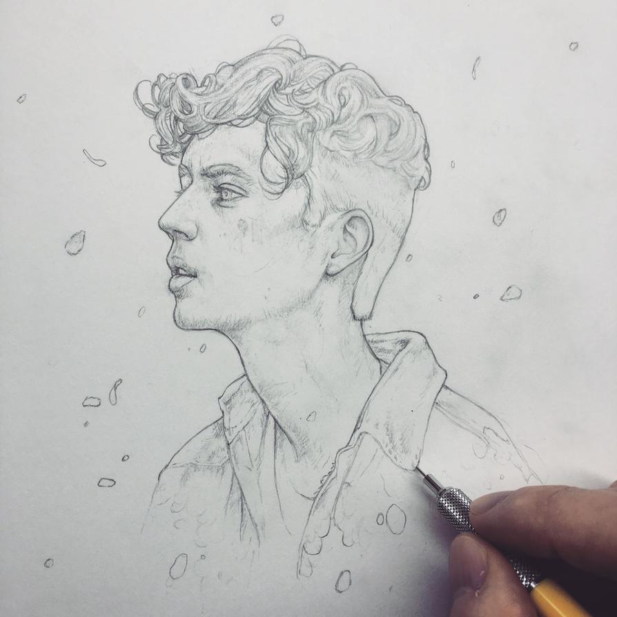Vonn Sketch 12.10.15 - Troye by Tvonn9 on DeviantArt