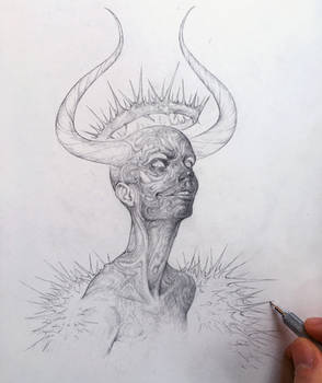 Vonn Sketch 12.21.15 - The King of Self-Sabotage