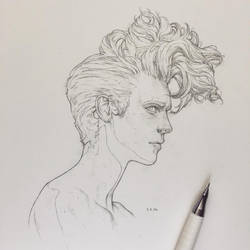 Vonn Sketch 2.5.16 by Tvonn9