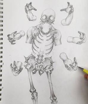 Vonn Sketch 6.7.16 - Gluttony