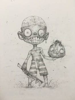 Drawlloween Day 1 - Return from the Dead