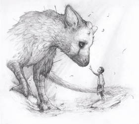 Apprehension - The Last Guardian Fanart