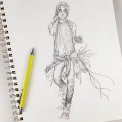 Nate, the Criminal Sketch by Tvonn9