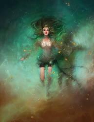 Christina, The Princess (Backstory Illustration) by Tvonn9
