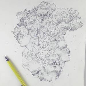 Vonn Sketch 3.24.17 - Scattered