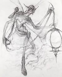 Drawtober 4/31 - Toxic Fairy Dust