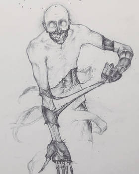 Drawtober 10/31 - Flesh Ripper