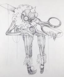 Drawtober 23/31 - Possessed Marionette by Tvonn9