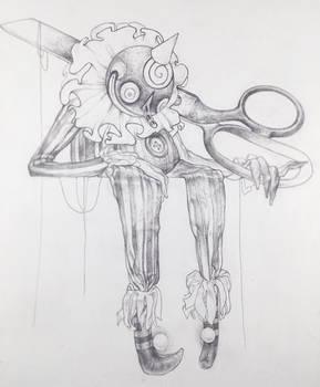 Drawtober 23/31 - Possessed Marionette