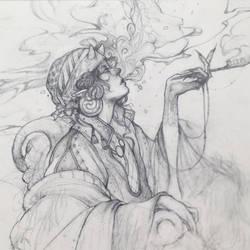 Divonndra Collab 04 - Smoke Merchant by Tvonn9