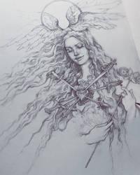 Lana Met Gala Sketch