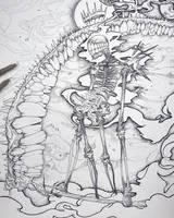 Drawtober - Grin Reaper by Tvonn9