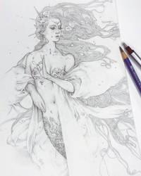 Mother Mermaid by Tvonn9