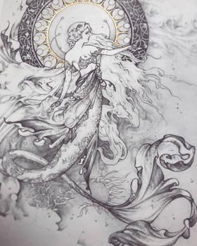 The Lunar Mermaid