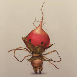 Radish Sprite (colored)