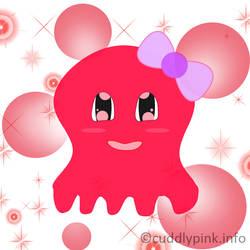 Pinky Octopus by cudlygirl03