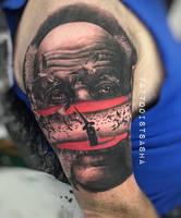 Surreal old man portrait by TattooistWilkinson