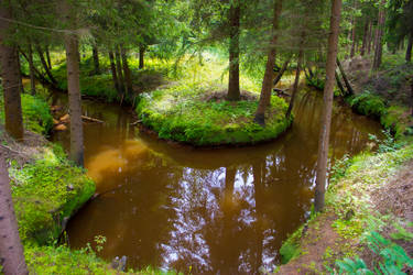 Horseshoe River by purstotahti