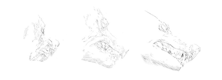 Sketch for K-9 Machine by purstotahti