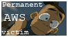 Permanent AWS Victim Stamp by Golden-Flute