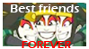 Best Friends Forever Stamp by Golden-Flute