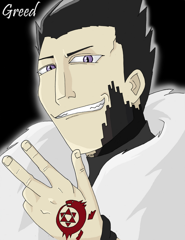 Fma Homunculus Greed By Golden Flute On Deviantart
