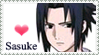 Naruto-- Sasuke Stamp by Golden-Flute