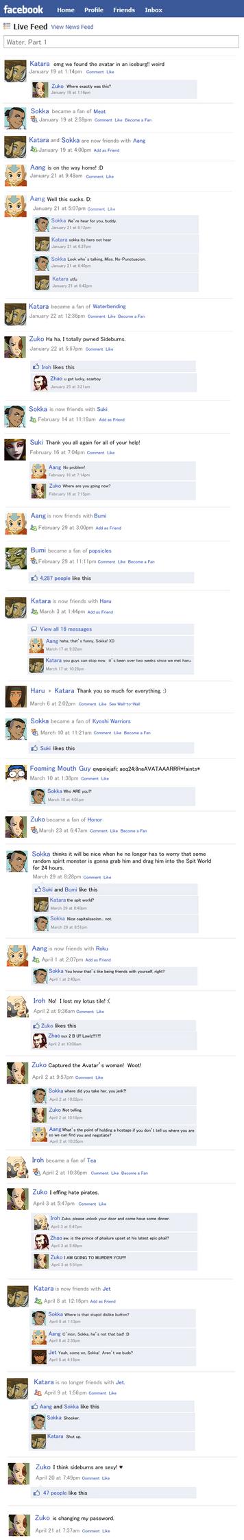 Avatar Facebook Water Part 1 by Golden-Flute