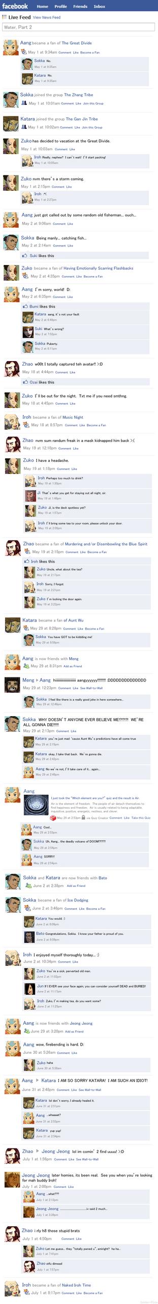 Avatar Facebook Water Part 2 by Golden-Flute