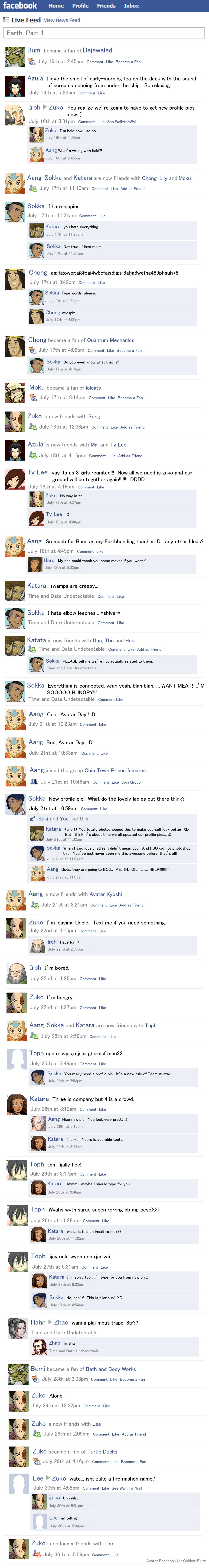 Avatar Facebook Earth Part 1 by Golden-Flute