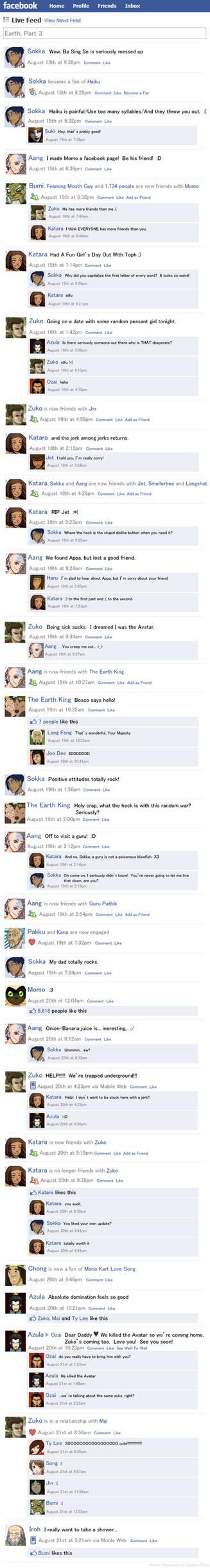 Avatar Facebook Earth Part 3