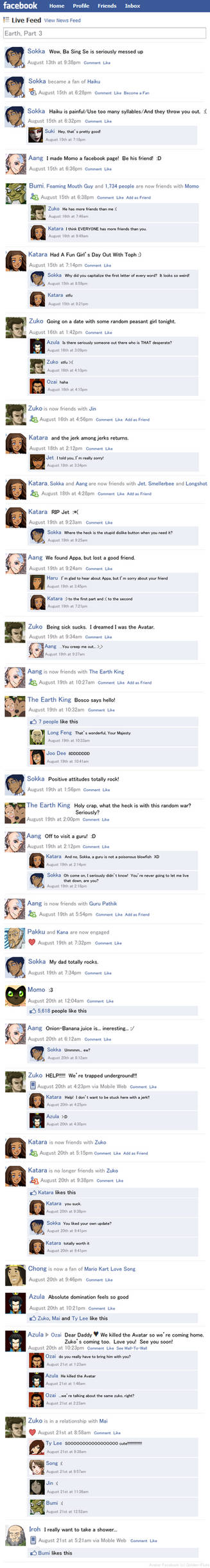 Avatar Facebook Earth Part 3