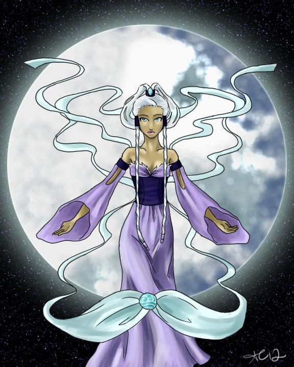 Moon In Avatar Movie: Avatar-- Yue V.2.2 By Golden-Flute On DeviantArt