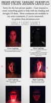 Front-Facing Light Source References by Golden-Flute