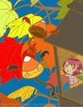 Candy Corn Oni Mischief by MythrilAngel