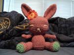 Amigurumi Bunny by MythrilAngel
