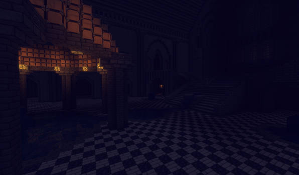 Tainted Halls - Welcome to your nightmare by MythrilAngel