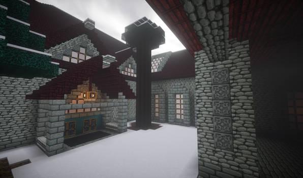 Tiny Courtyard - Alkiina Lodge by MythrilAngel