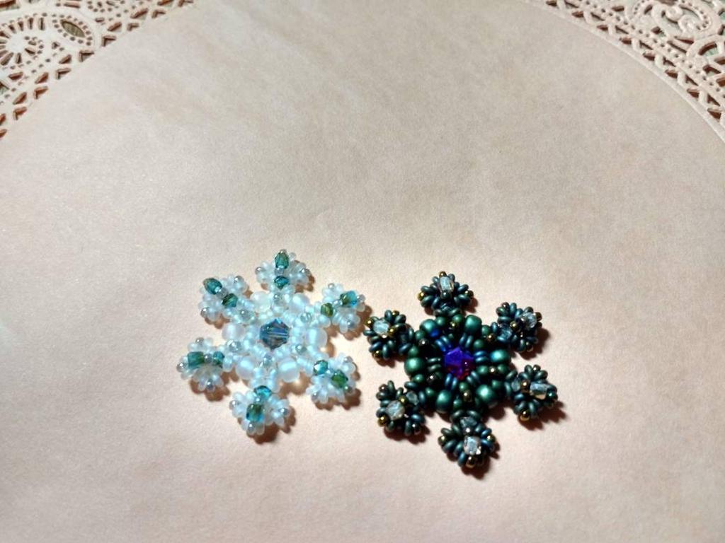 Snowflake Motif by MythrilAngel