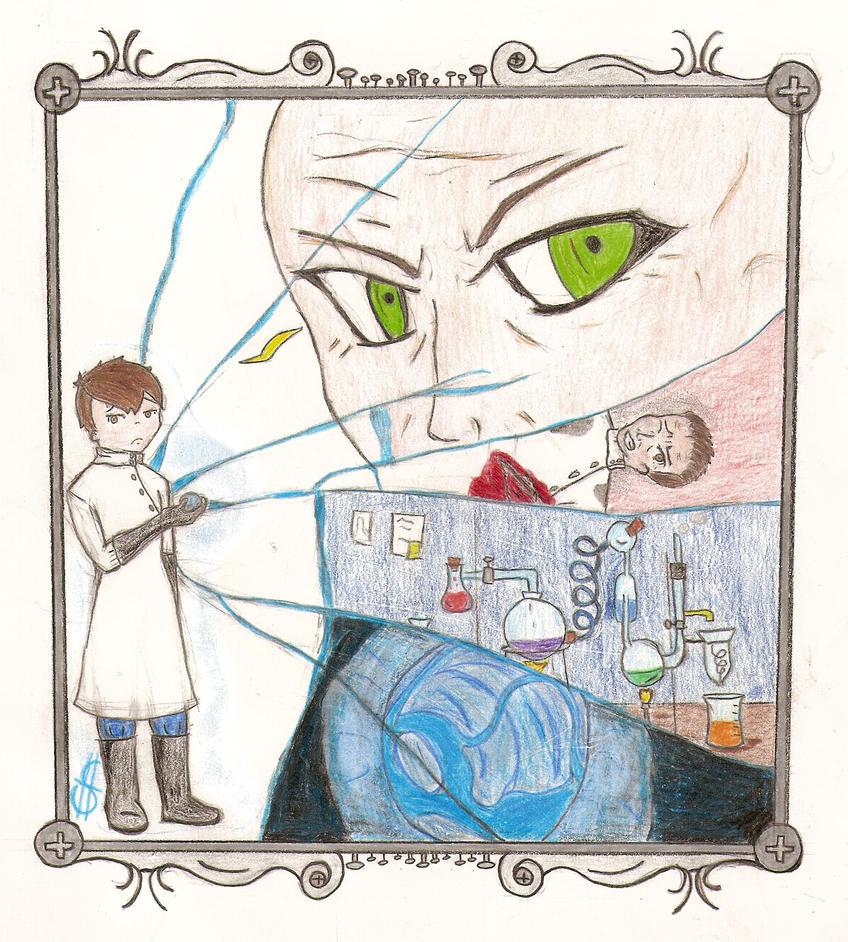 Broken- O Tezuka project, finish result by Magiske-Fingrer