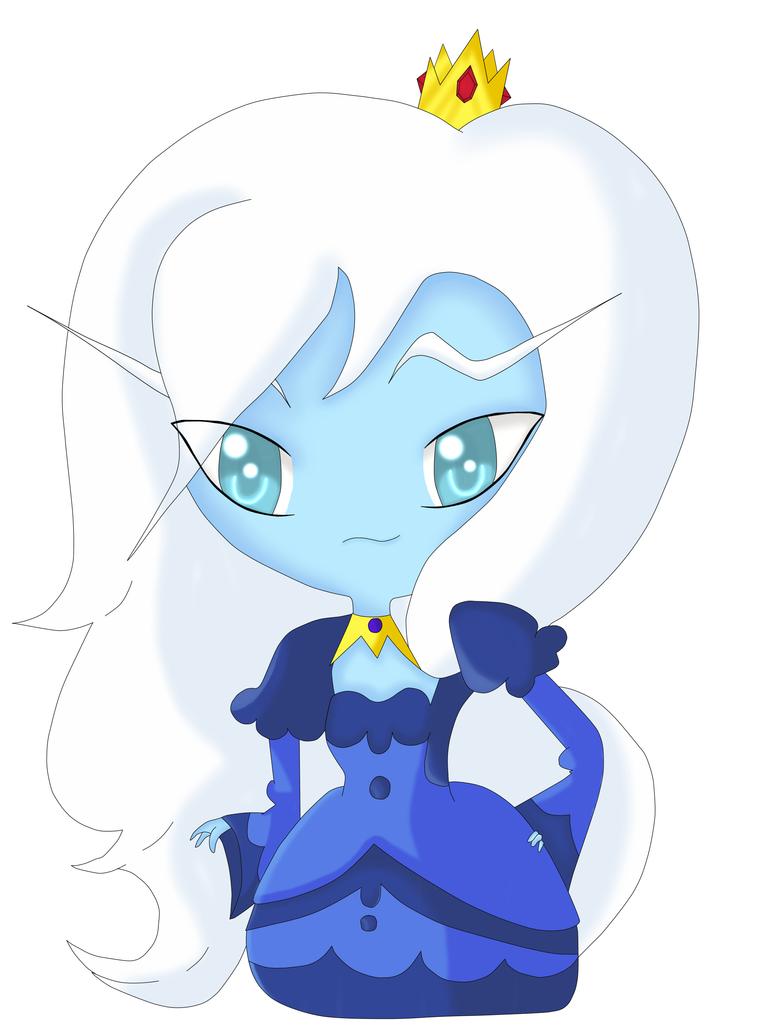 Chibi Ice Queen by EmpressTerra