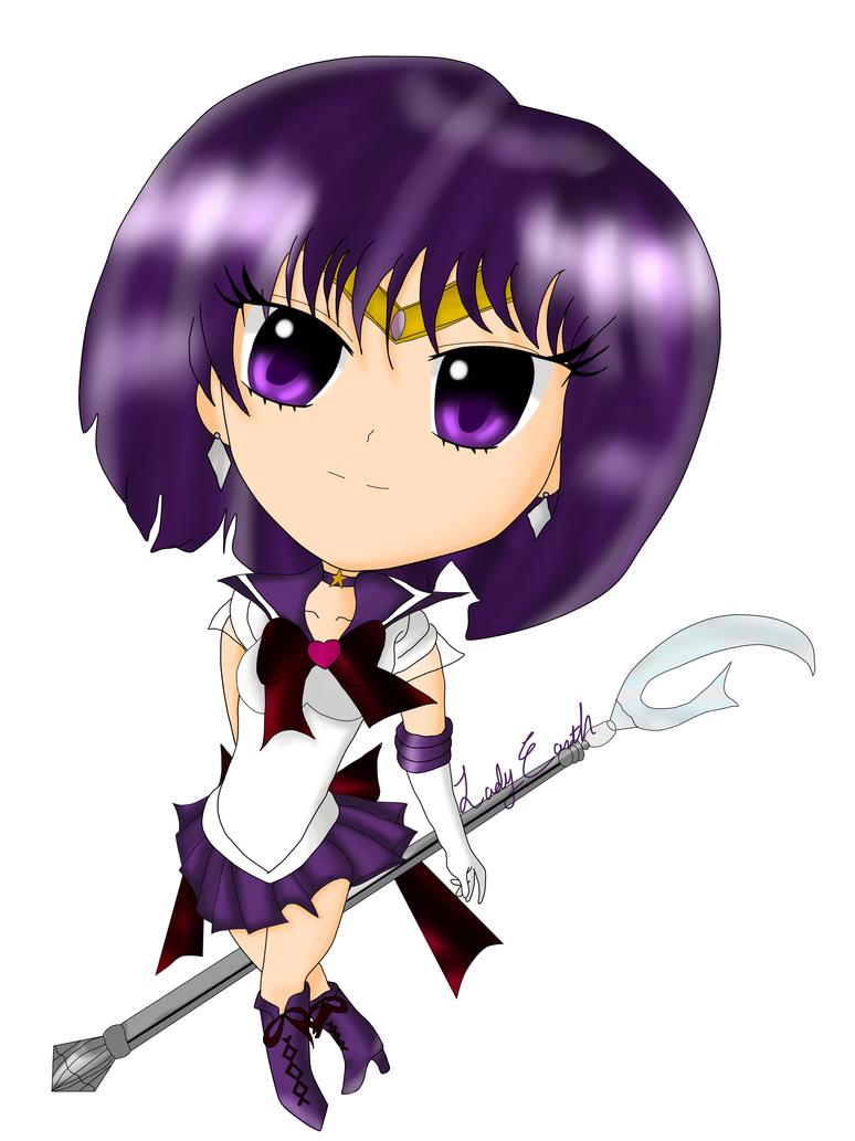 Chibi Sailor Saturn by EmpressTerra