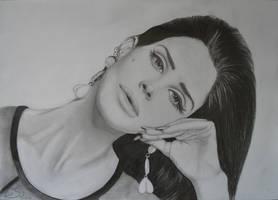 Lana del Rey finished by Liesjj