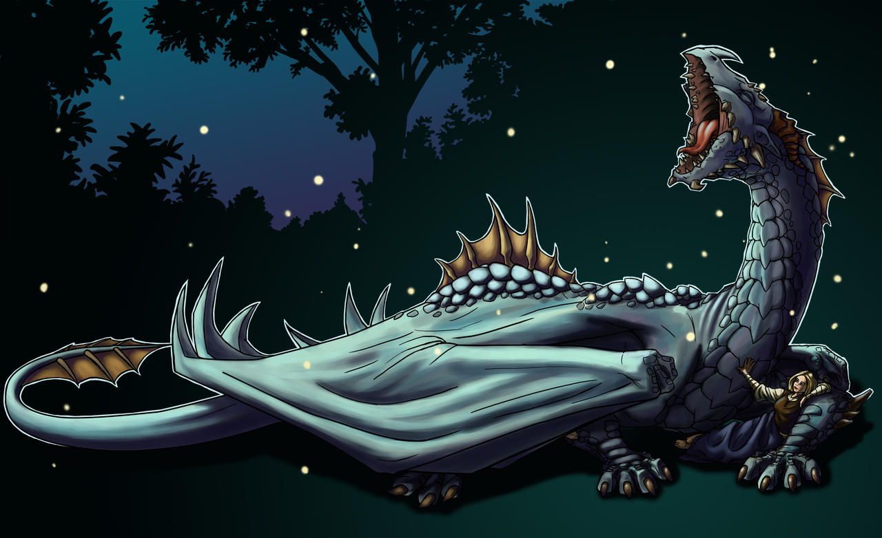 Sleepy Dragon Wallpaper By Motterhorn On DeviantArt